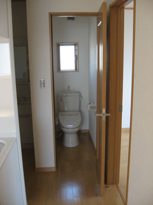 サンブライトクリタニ トイレ