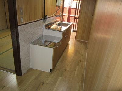 クリタニ貸家2 キッチン